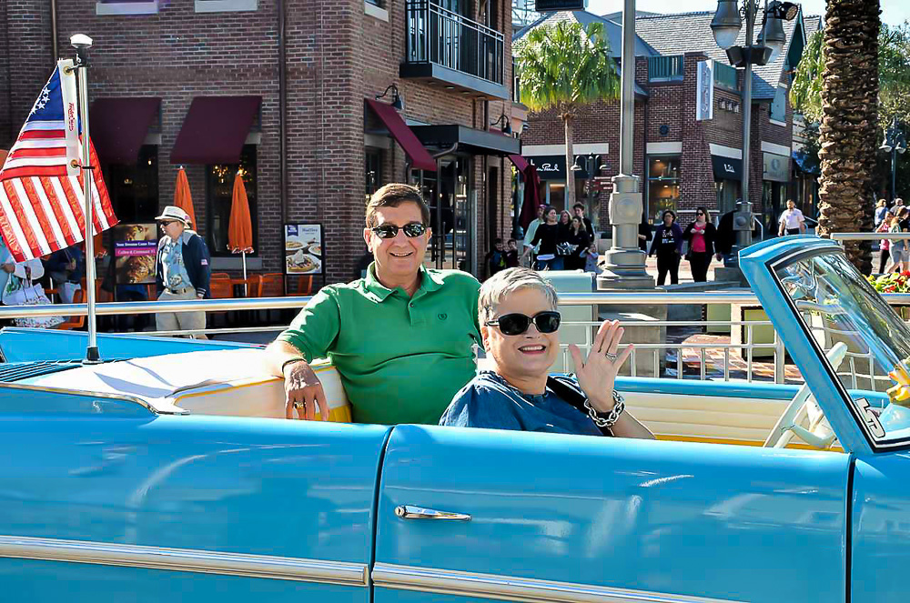 Getting to ride in an Amphicar