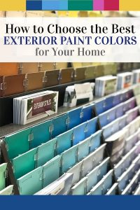 How to choose the best exterior paint color scheme for your home. Considering each of these easy tips will ensure you find the perfect color or color scheme when painting your house.