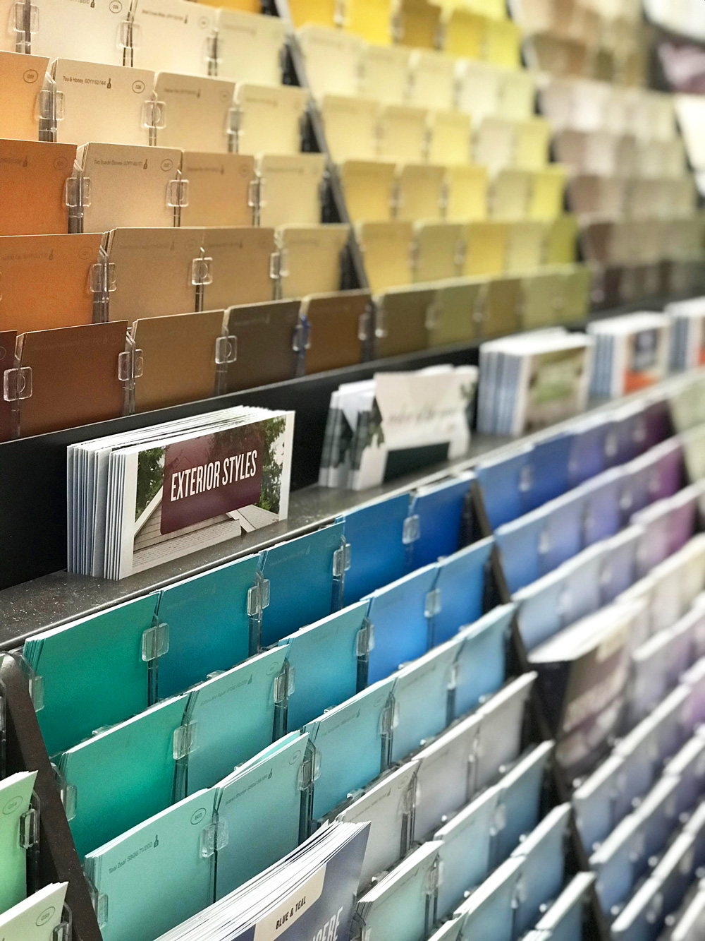 Glidden PPG Paint colors at Home Depot