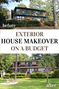 Before-and-After-small-Budget-House-Exterior-Makeover