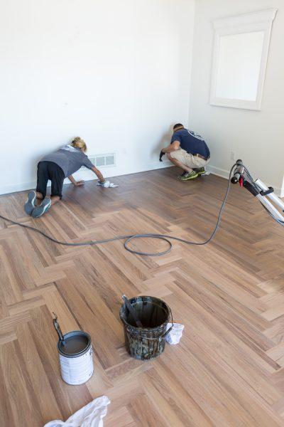 Hardwood Floor REFINISH Treatment