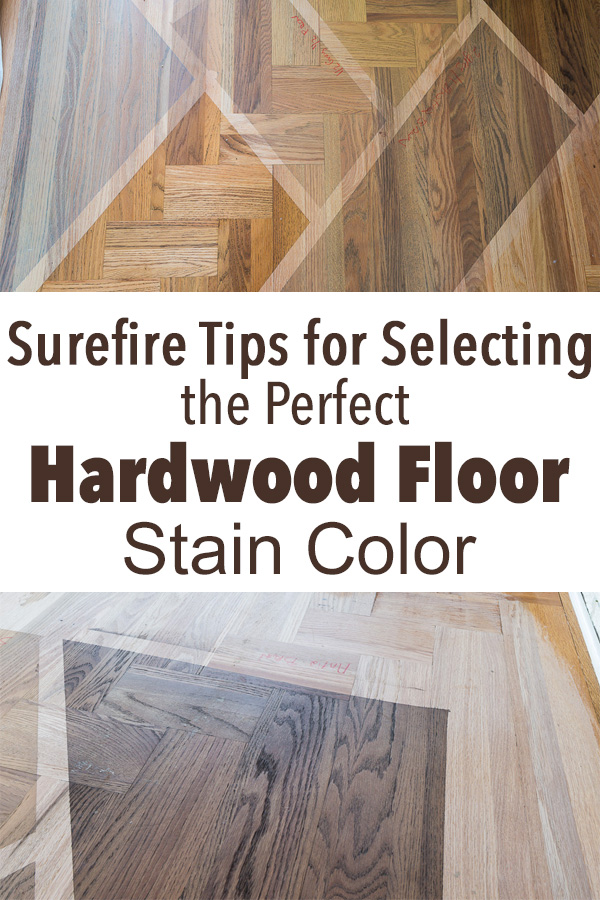 Choosing A Wood Floor Stain Color For My Kitchen Amp Living