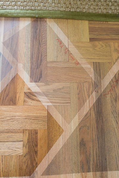 Choosing a Wood Floor Stain Color for My Kitchen & Living Room