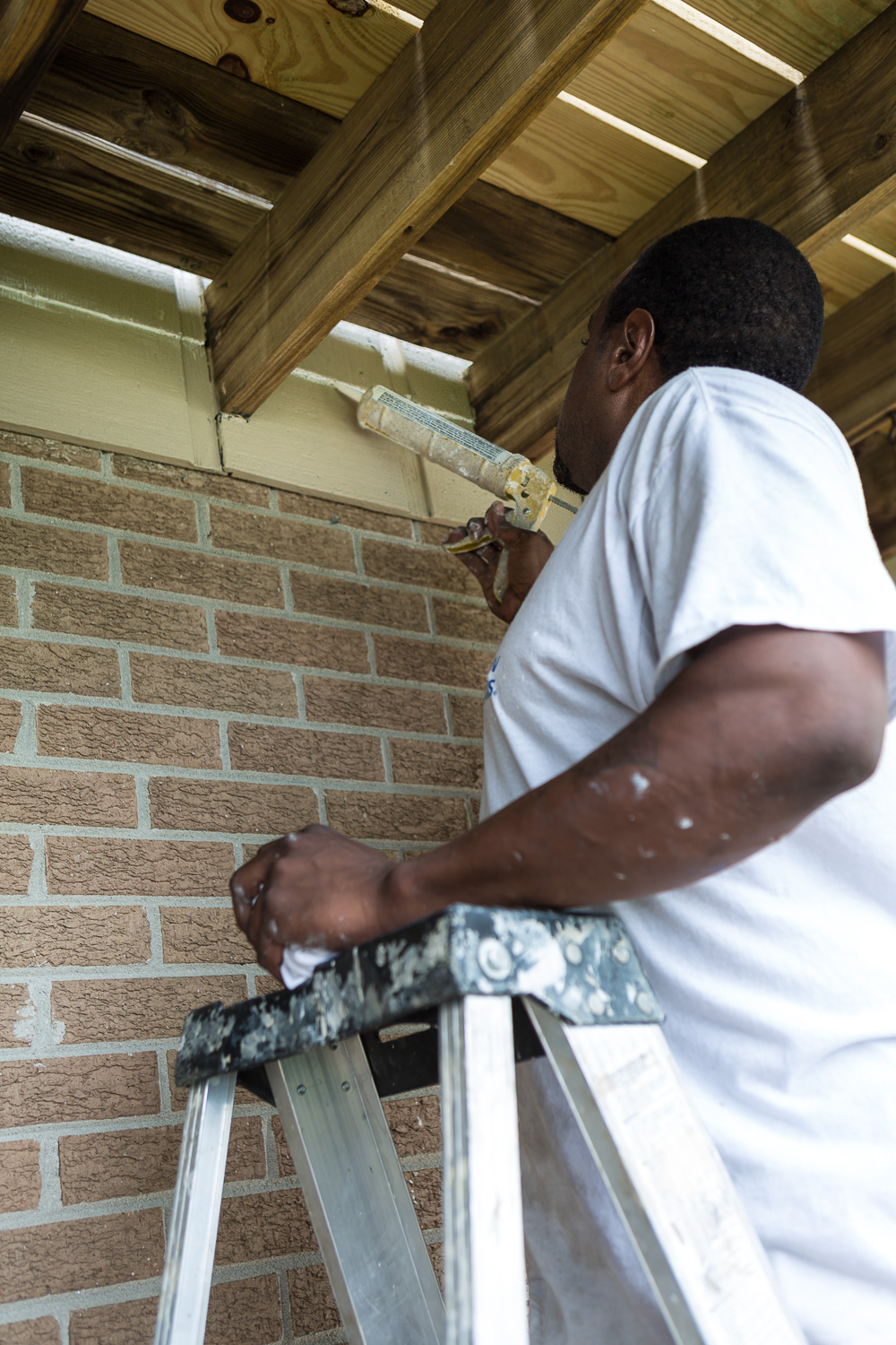 why you should caulk cracks and seams first before painting the exterior of a house