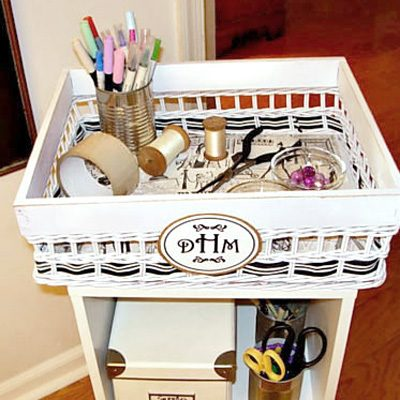 Zoom Zoom Zoom – A Craft Cart with Wheels