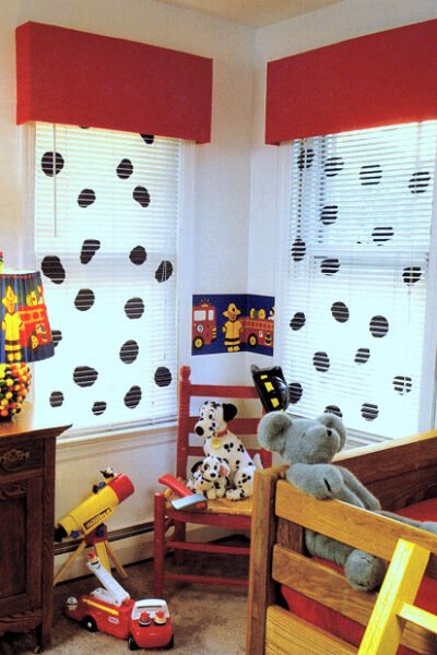 How to Make Dalmatian Spotted Window Blinds