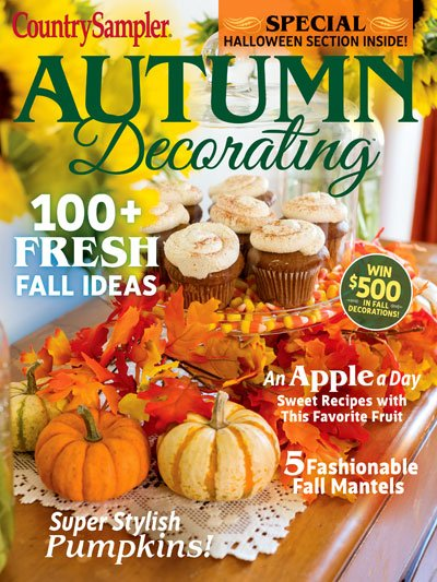 Copy of Country Samplers Autumn Decorating Magazine 2019
