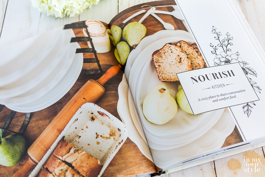 Chapter in book about decorating the kitchen