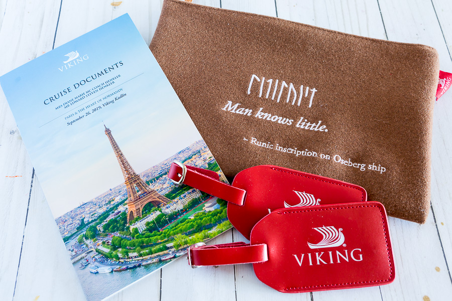 Viking River Cruise Trip Documents and Luggage Tags