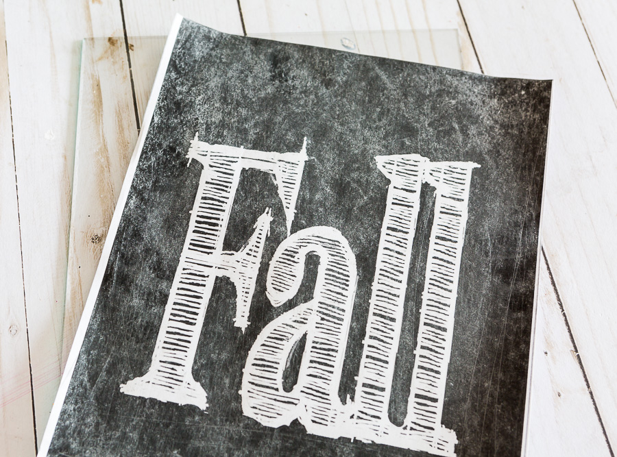 Print out of free fall chalkboard printables for Fall