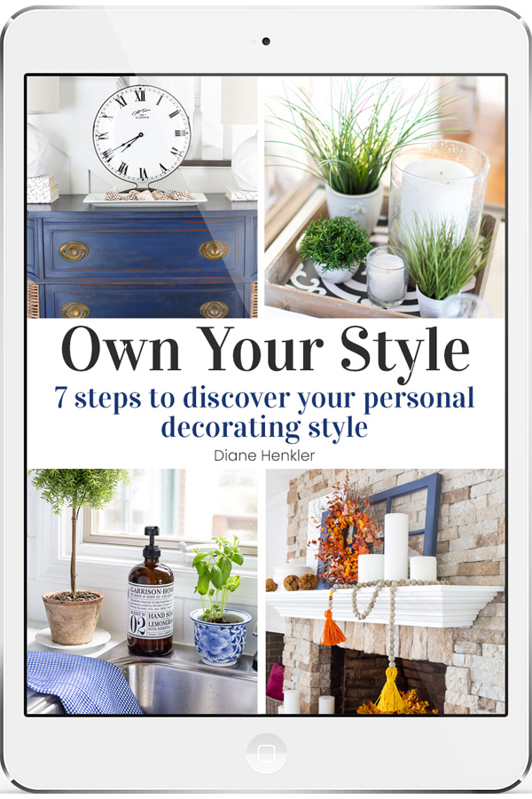How to Decorate in your own style