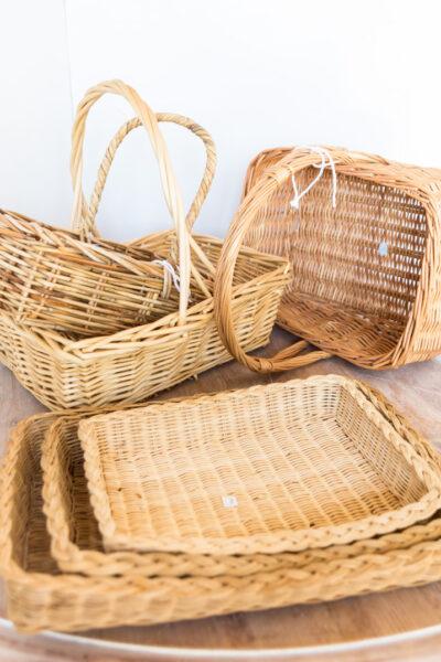 Cheap, But Decorative Storage Baskets