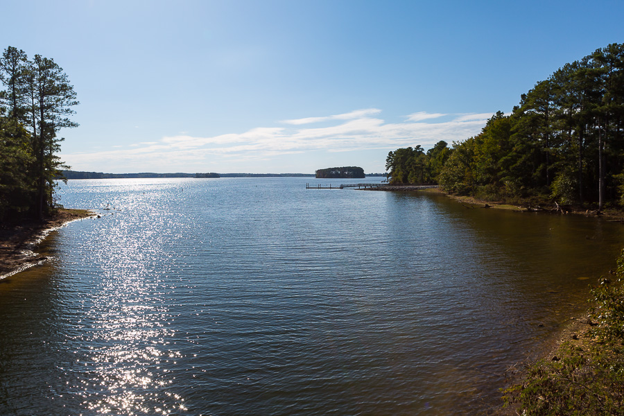 Dreher Island State Park coves