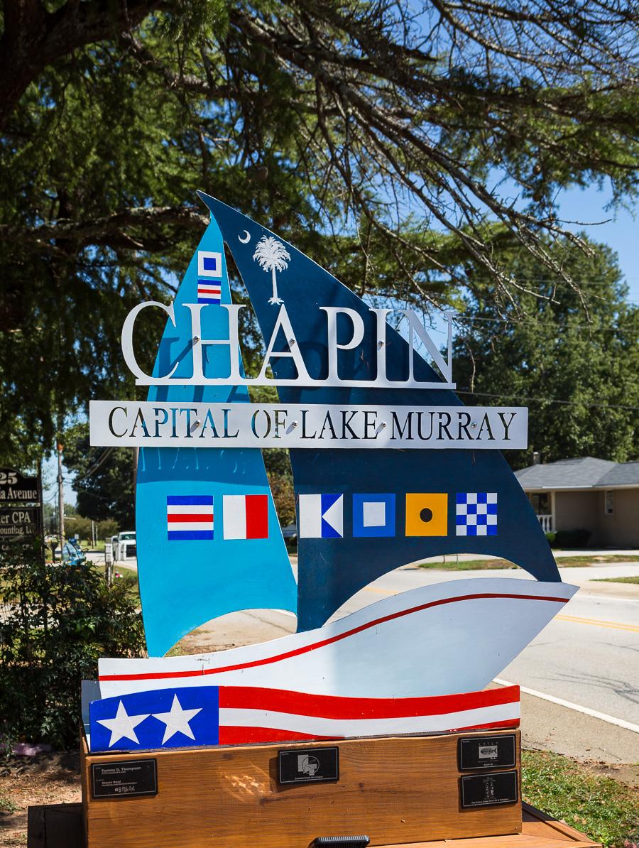 Chapin Sailboat sign