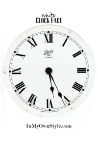 White-Clock-Face-Free-Printable