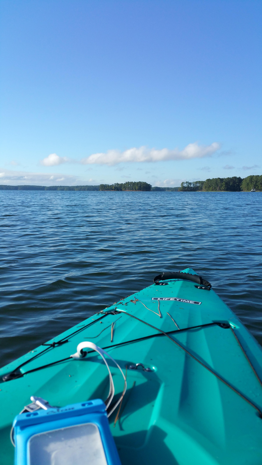 kayaking on lake murray