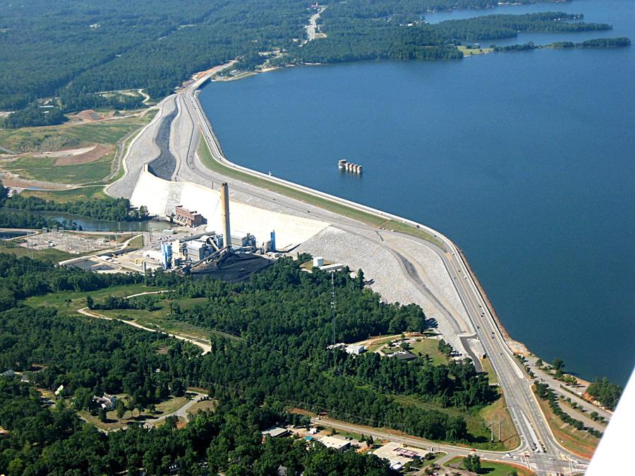 lake and dam