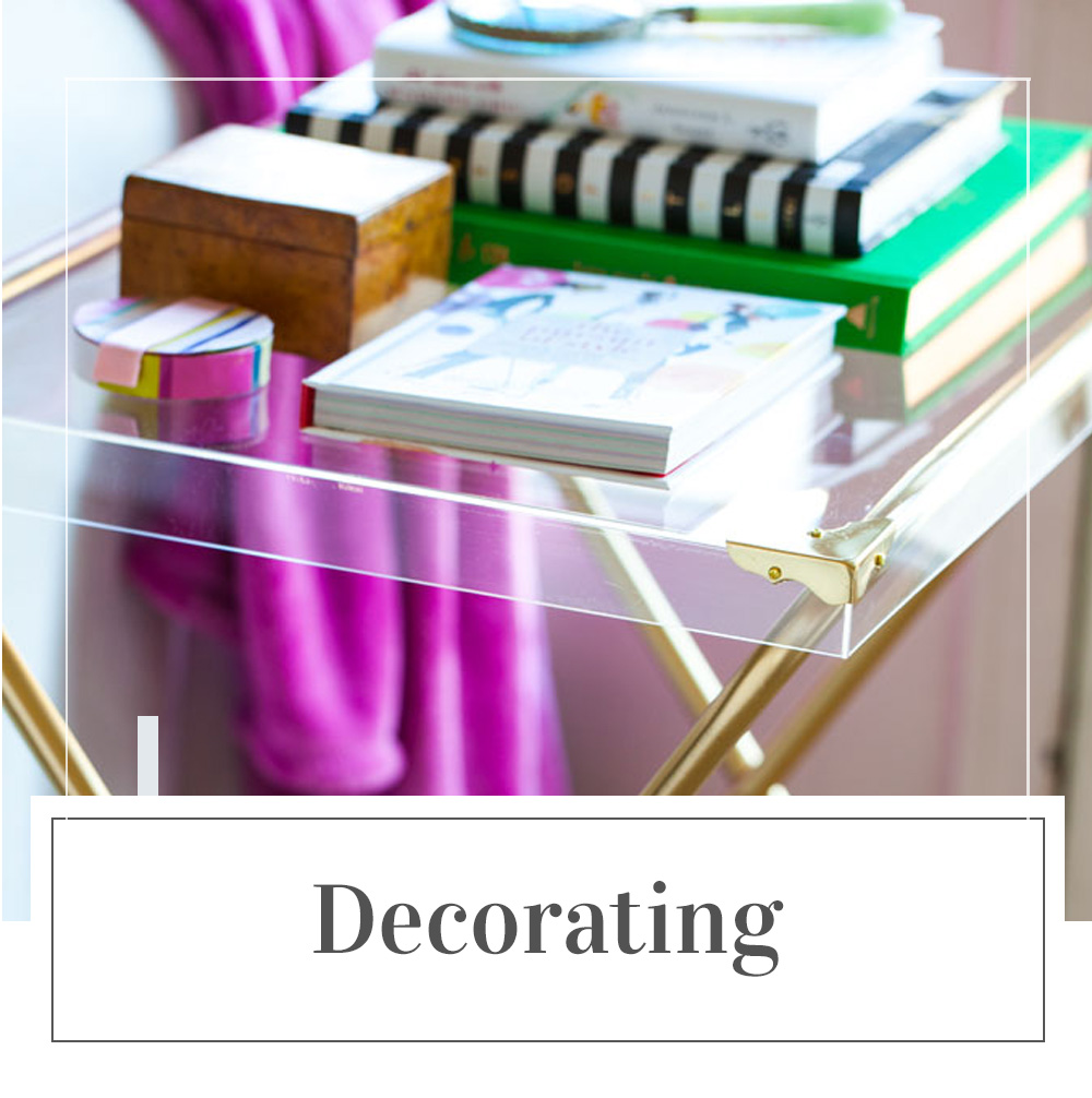 Decorating Posts on In My Own Style blog