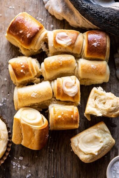 parker house rolls made by half baked harvest